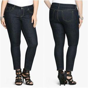 Torrid Skinny Jeans Dark Rinse Size 18 TALL